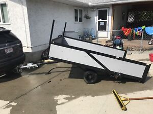 Utility trailer 6 ft by 9 ft