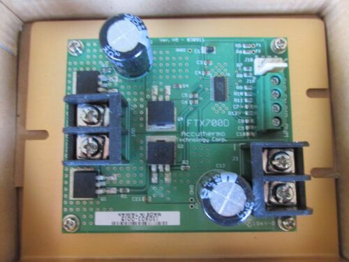 NEW ACCUTHERMO TECHNOLOGY FTX700D H BRIDGE AMPLIFIER