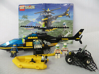 LEGO RESQ 6462 Helicopter Boat complete with instructions