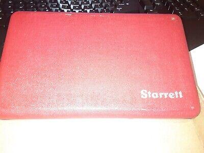 New Old Stock Starrett Tubular Id Inside Micrometer Set No 823b - 1 12-12