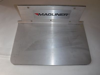 New Magliner Solid Aluminum 14 Handtruck Nose Plate With Mounting Hardwarep