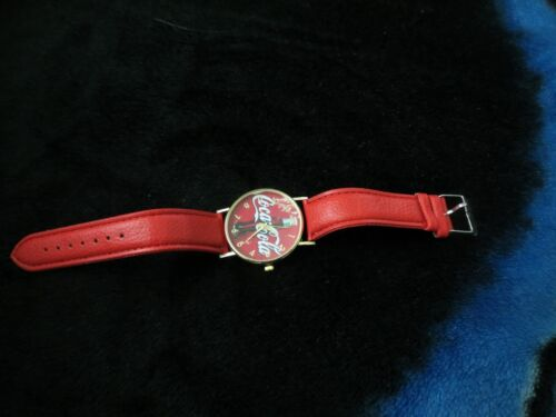 cocoa cola wrist watch