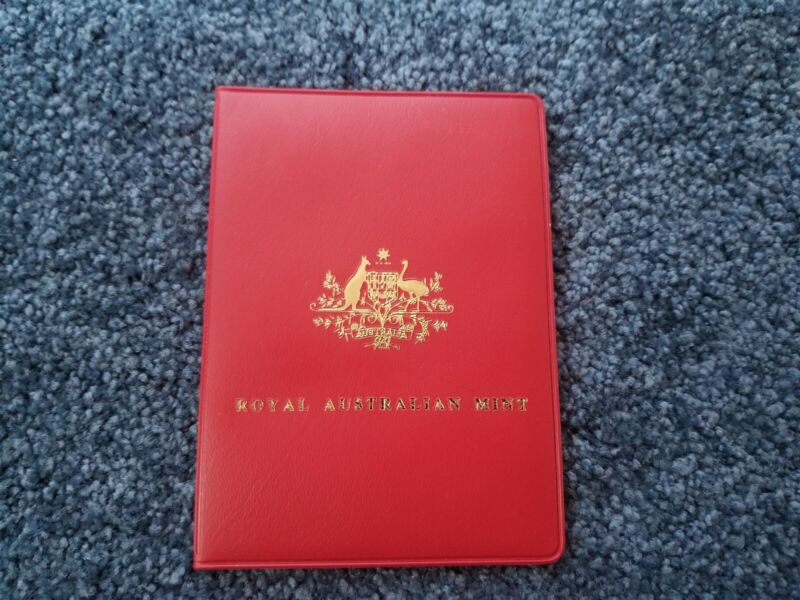 Australia RAM Mint Set 1979 - Red Wallet - UNC Uncirculated