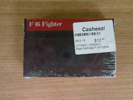 Sega Game Cartridge - F-16 Fighter