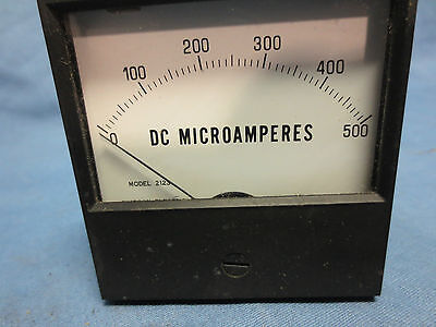 Simpson 17501 Analog Panel Meter Dc Current 0a To 500a - New In Box