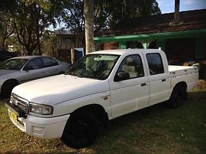1999 MAZDA BRAVO DUAL CAB Lemon Tree Passage Port Stephens Area Preview