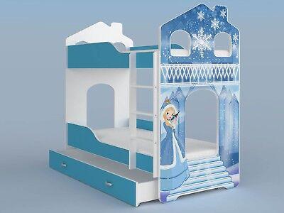 TODDLER JUNIOR MODERN TRENDY HOUSE BED FOR CHILDRENS KIDS BEDROOM +FREE DELIVERY