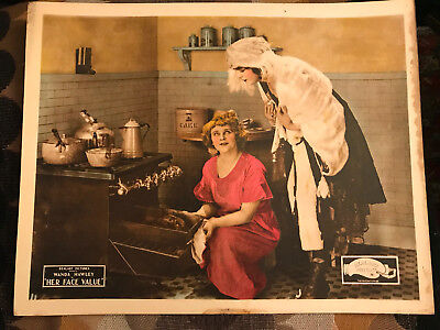 Her Face Value 1921 Realart silent lobby card Wanda Hawley Winifred Bryson for sale  Shipping to India