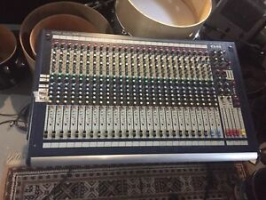 Soundcraft GB2 24 channel mixer