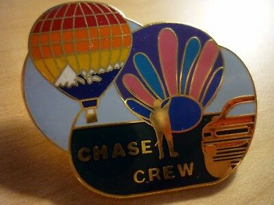CHASE CREW  PIN   2 COLORFUL  BALLOONS AND TRUCK!!