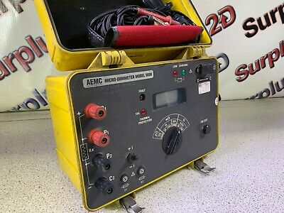 Aemc 5600 Micro-ohmmeter Includes Probes