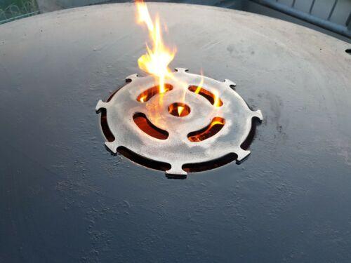 Grillrost für Feuerplatte   Plancha   Grillplatte mit 20cm Feuerloch