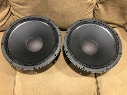 "Faital 15PR400 15"" Mid-Bass Woofer, 8 ohms, pair"
