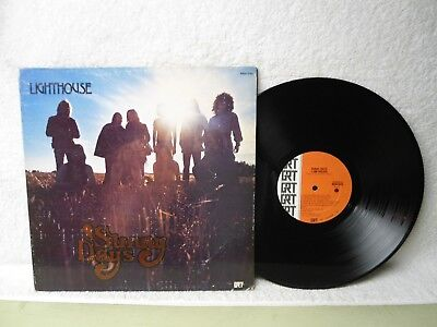 Lighthouse LP Sunny Days Clean 1973 Canadian Press Gatefold Orig!