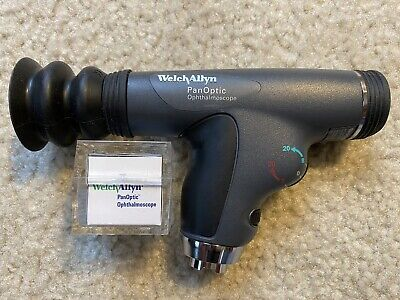 Welch Allyn 3.5v Panoptic Ophthalmoscope Head Model 11820