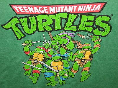 TMNT Teenage Mutant NINJA TURTLES movie VINTAGE Retro MEN'S T-Shirt S,M,L,XL,2XL - Ninja Turtle Shirt