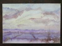 Quadro Paesaggio Invernale Con Neve E Gelo Quadro Moderno Anni 60 Originale P16 -  - ebay.it