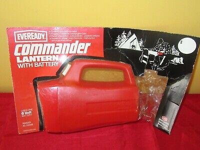 Vintage Eveready Commander Lantern Flashlight 6V NIP