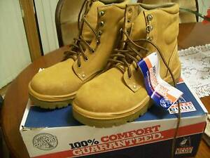 Steel blue work boots...brand new...steel cap Encounter Bay Victor Harbor Area Preview