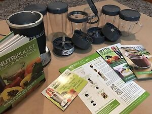 NutriBullet with loads of extras Neutral Bay North Sydney Area Preview