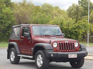 2007 Jeep Wrangler 4WD GO TOPLESS Bungalow Cairns City Preview