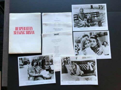 Desperately Seeking Susan (1985)- Movie Press Kit Envelope w/Press Photos & News