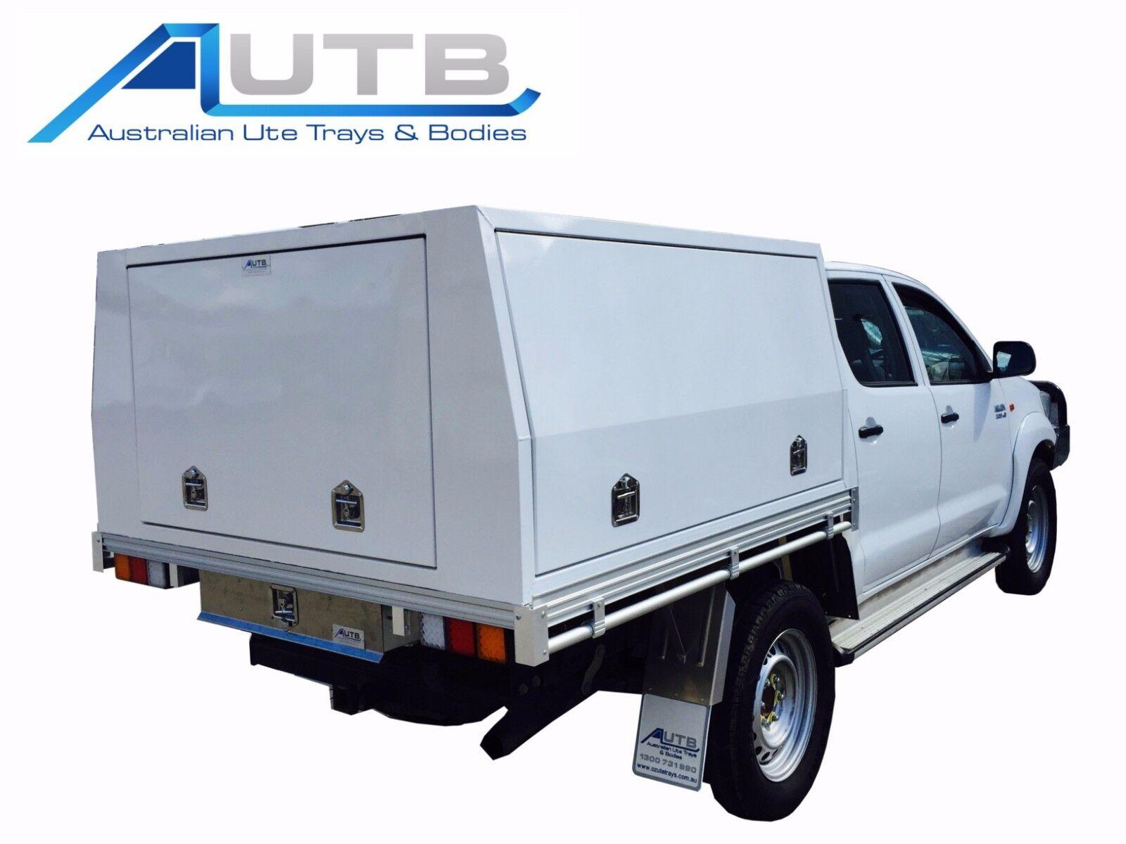 Dual Cab Hilux Aluminium Canopy - 1800mm x 1800mm x 860mm 3 Door Powdercoated  sc 1 st  eBay & Dual Cab Hilux Aluminium Canopy - 1800mm x 1800mm x 860mm 3 Door ...