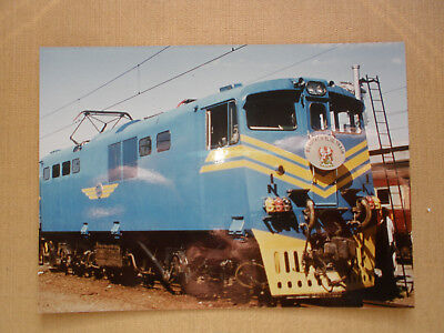 402 Farbfoto SÜDAFRIKA E-Lok E 1395 von 1974