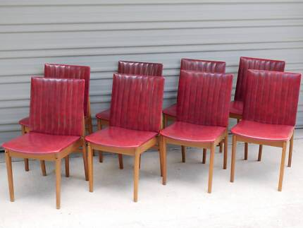 Vintage Don Rex Chairs (Set of 8)
