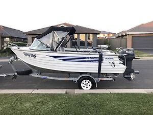 2005 Savage 4.85m Baycruiser Boat - Yamaha 70hp Low Hours Kellyville The Hills District Preview