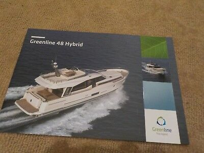 GREENLINE THE HYBRID 48 HYBRID MARKETING BROCHURE - ENERGY SAVING YACHT