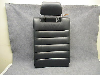 2000-2002 Audi S4 Sedan Back Seat LH Upper Section w/Headrest Onyx Leather 27545