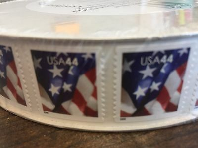 WCstamps: $1,320.00 Face Value - 1 Roll (3,000) 44c U.S. Stamps, LOT#2