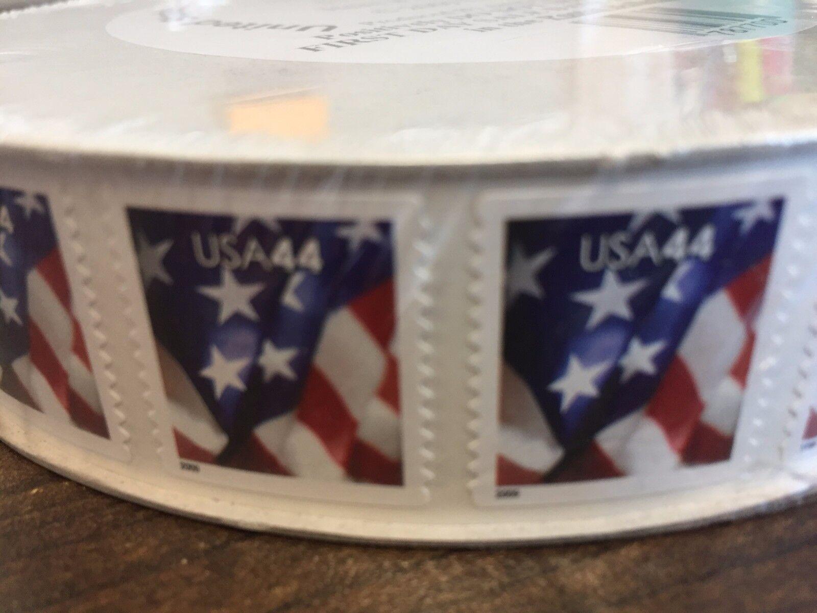 Изображение товара WCstamps: $1,320.00 Face Value - 1 Roll (3,000) 44c U.S. Stamps, LOT#2