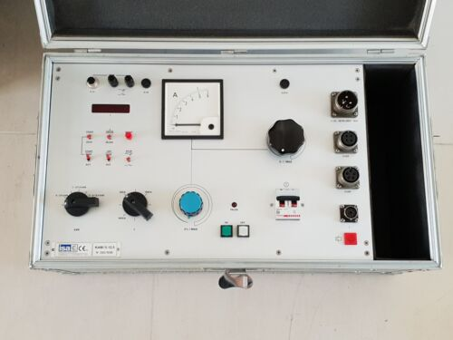 ISA KAM  5/12.5 instrument transformer testing 12.5Kw control unit only
