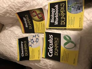 Chemistry, Biology and calculus for dummies