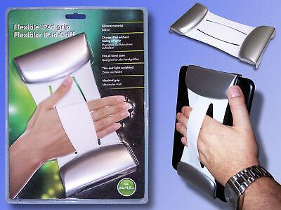 flexibler iPad Griff, Haltegriff für iPad und andere Tablet Pc, Silikon Halter