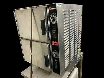Groen Hy-6e 2 Compartment Hypersteam Stainless Convection Steamer