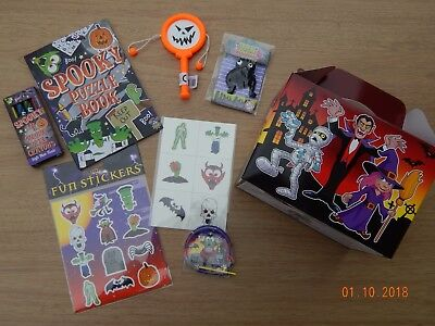 Pre Filled Halloween Party Box! Trick or Treat! Party Activity - Halloween Party Activity