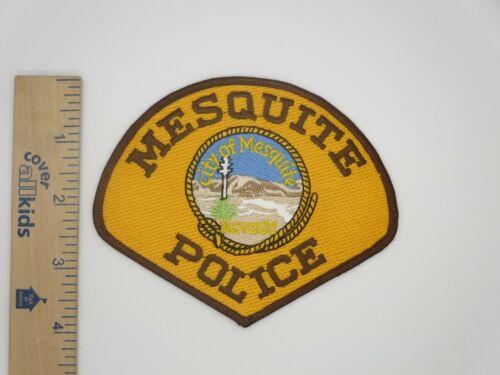 CITY of MESQUITE NEVADA POLICE PATCH Vintage Original