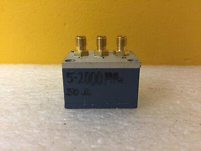 Mini-circuits Zlw-11 5 To 2000 Mhz 7 Dbm 50 Mw Sma F Coaxial Freq. Mixer