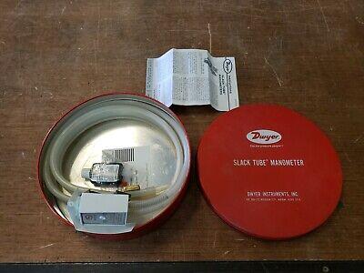 Dwyer 1211-48 Slack Tube Manometer 50psi 130f Used