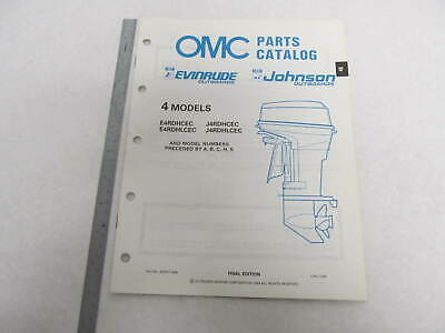 432877 OMC Evinrude Johnson 1989 Outboard 4 HP Parts - Johnson Evinrude Omc Parts Catalog