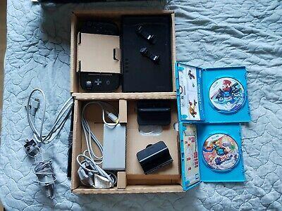 Nintendo Wii U Black Console 32 GB | Mario Kart 8 | Hyrule Warriors | EXCELLENT