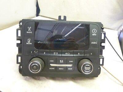 15 26 Dodge Pickup Receiver AM FM XM w Display Screen PN P68245816AD JF131