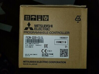 New In Box Mitsubishi Programmable Controller Fx2n-32er-esul