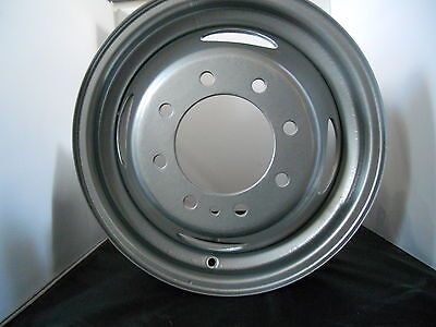 1999-2004 FORD F350 DUAL FRONT REAR STEEL WHEEL DRW OE OEM 16 4C3Z-1015-BA (3336