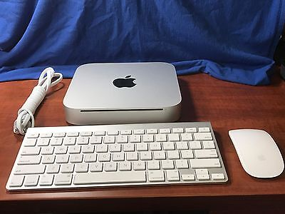 Mac Mini 2010 2.4GHz, NEW SUPERDRIVE, 8GB RAM, 160GB SSD, macOS Sierra BUNDLE