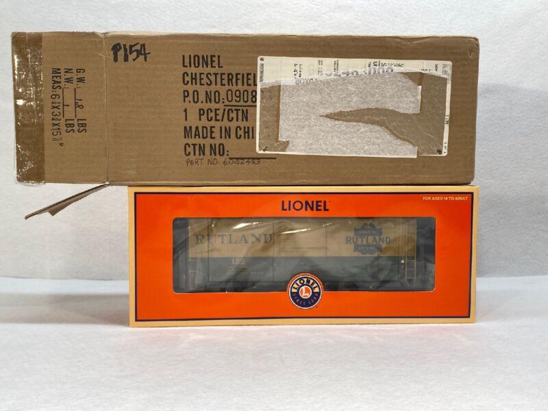 Lionel 2008 TCA Convention Car Rutland PS-1 BoxCar 6-52483 New O Gauge
