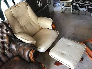 Leather reclining chair Lane Cove Riverview Lane Cove Area Preview